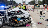 BFD NHSP Fatal Toll Booth Crash
