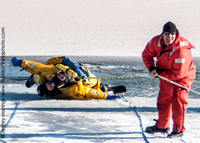 MFD Ice Rescue Training