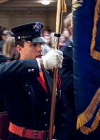 Concord Fire Honot Guard Presenting Colors