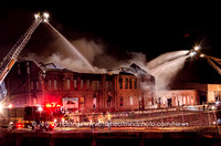 Lawerence 6 Alarm Mill Fire