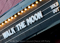 Walk The Moon Sound Check VIP Party