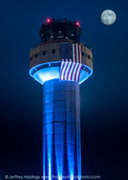 MHT Airport Tower - Flag-2294_
